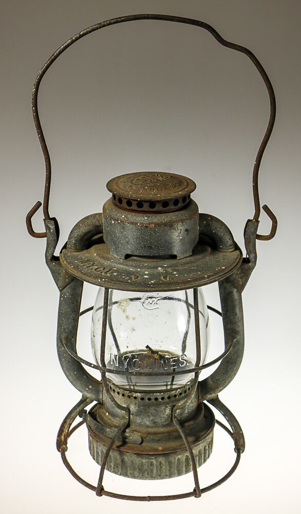 railroad lantern antique new york city line deitz vesta lantern ebay. Black Bedroom Furniture Sets. Home Design Ideas