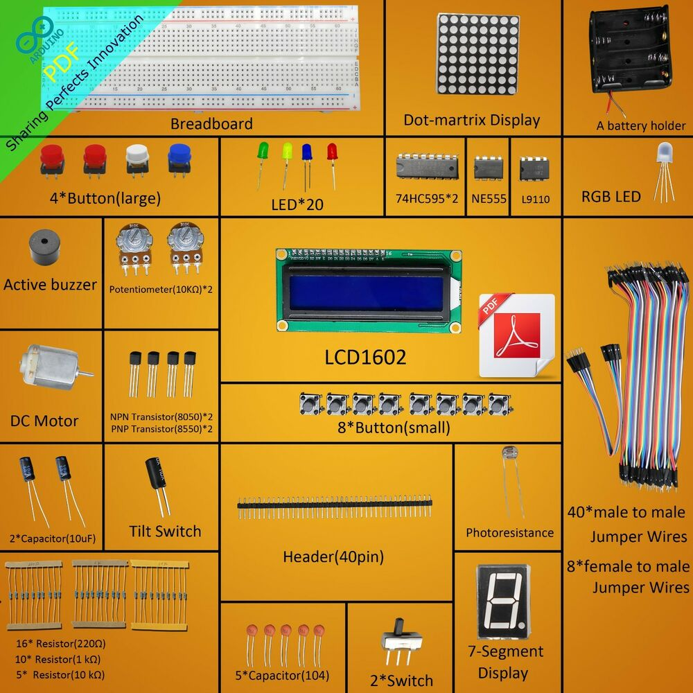 New project super starter kit for arduino uno r