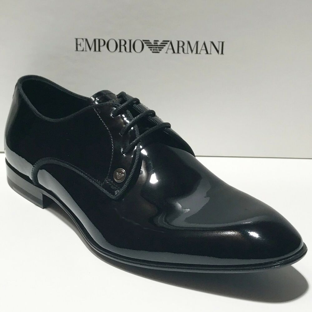 Mens Patent Leather Oxford Shoes