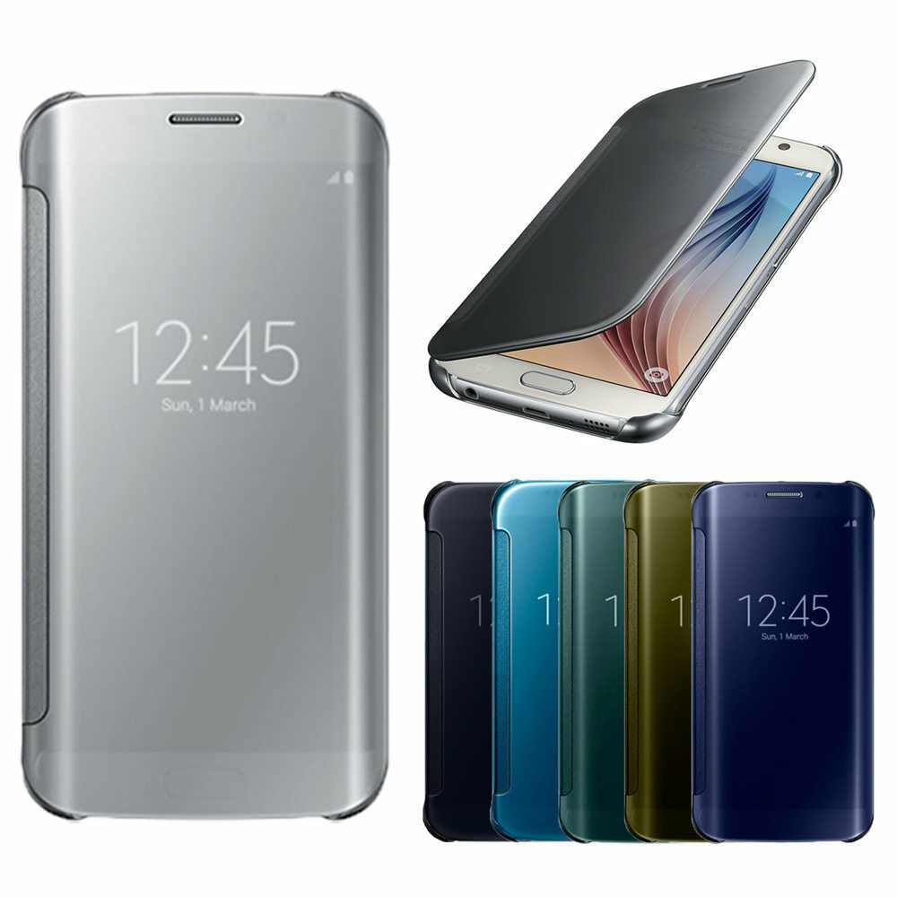 smart view iphone luxury mirror smart view clear flip cover for apple 12992