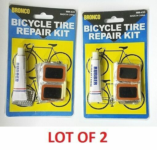 how to fix flat bike tire without tools