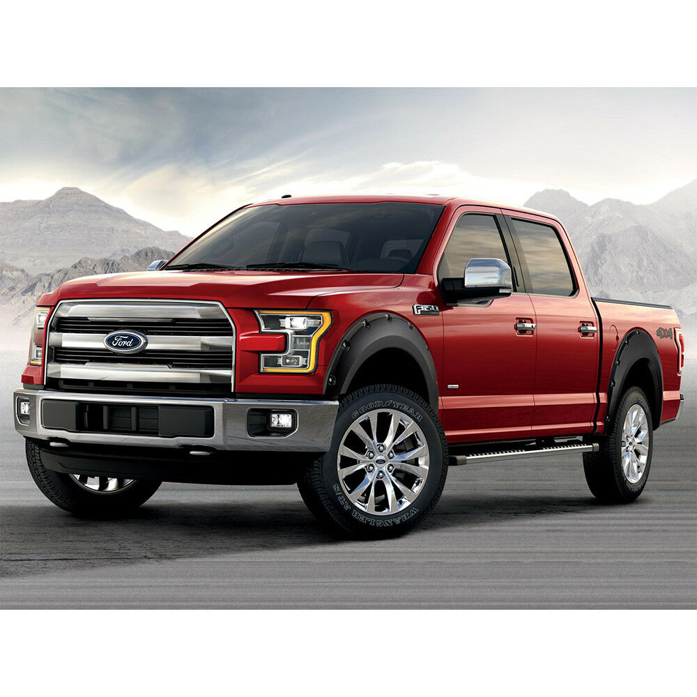 2015 2017 ford f 150 front rear wheel fender flares. Black Bedroom Furniture Sets. Home Design Ideas