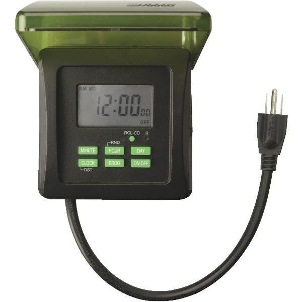 COLEMAN CABLE OUTDOOR 7 DAY HEAVY DUTY DIGITAL TIMER