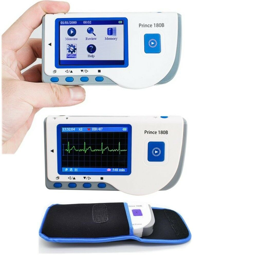 how to read ecg monitor