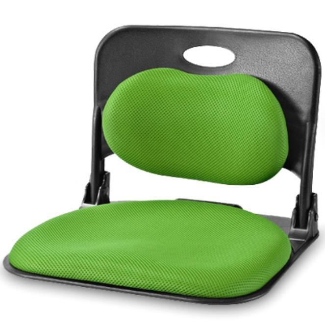Floor Pillows With Backs : Folding_Back Support Seat Lumbar Meditation Yoga Cushion Tatami Posture eBay