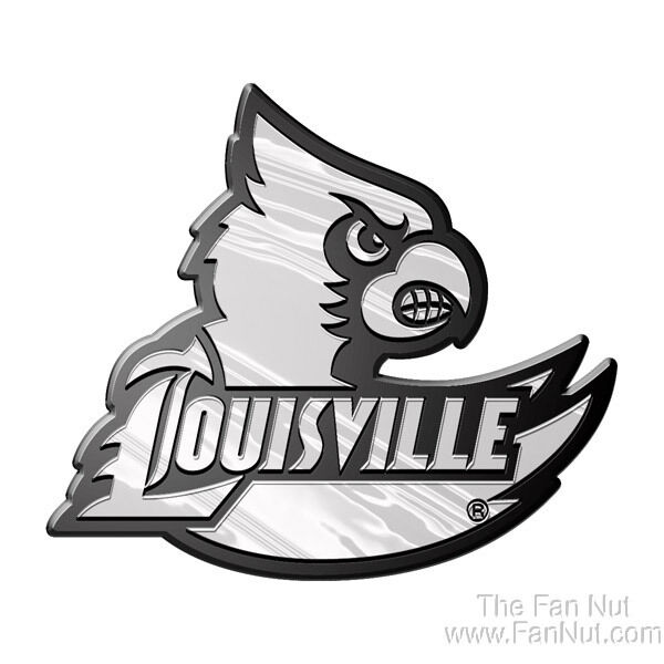Louisville cardinals silver chrome color wrdmrk auto for University of miami coloring pages