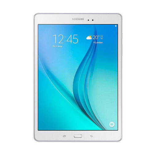 samsung galaxy tab a 9 7 inch tablet 16 gb white ebay. Black Bedroom Furniture Sets. Home Design Ideas