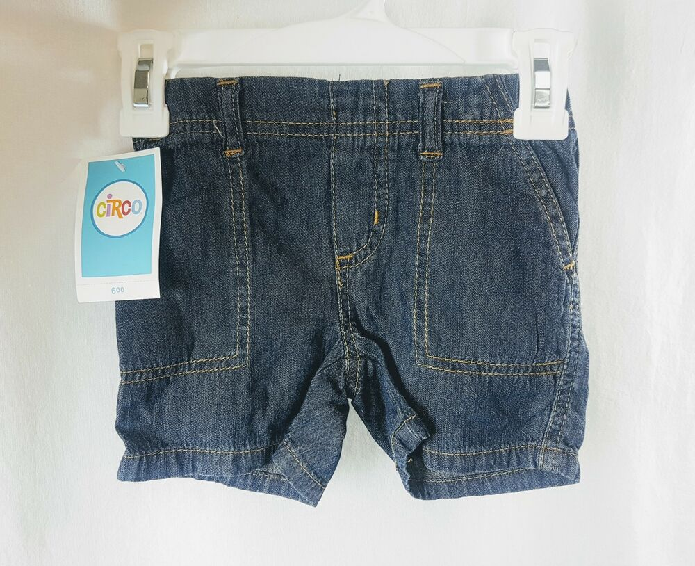 NEW Circo Toddler Boys Denim Jean Shorts | eBay