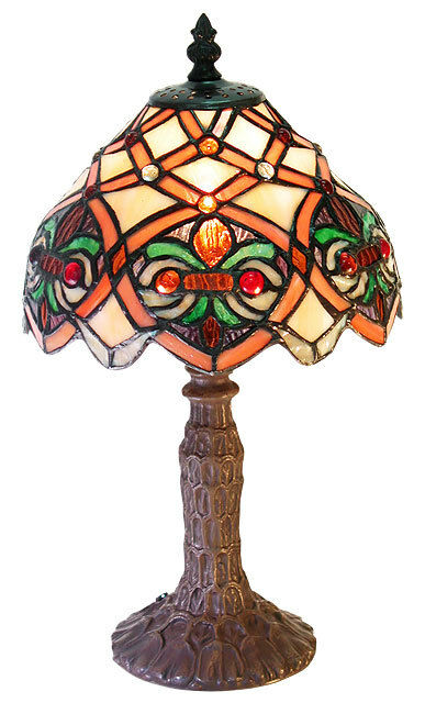 tiffany style arielle accent lamp tiffany style small arielle accent. Black Bedroom Furniture Sets. Home Design Ideas