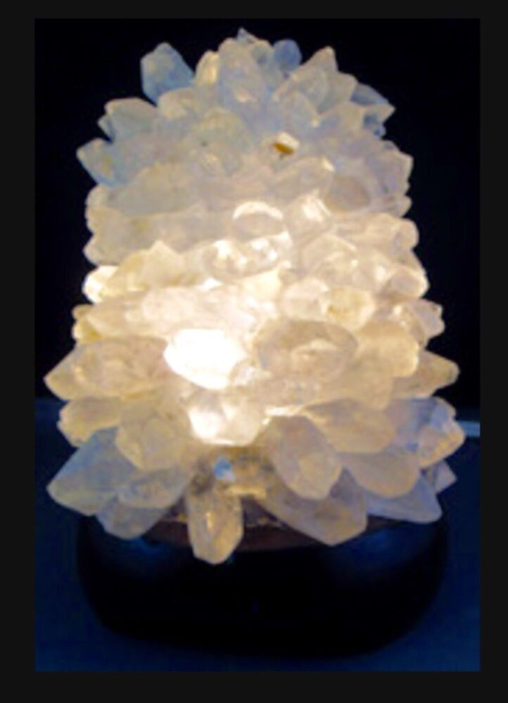 Clear Quartz Lamp And Cord Gemstone Lamp Clear Quartz