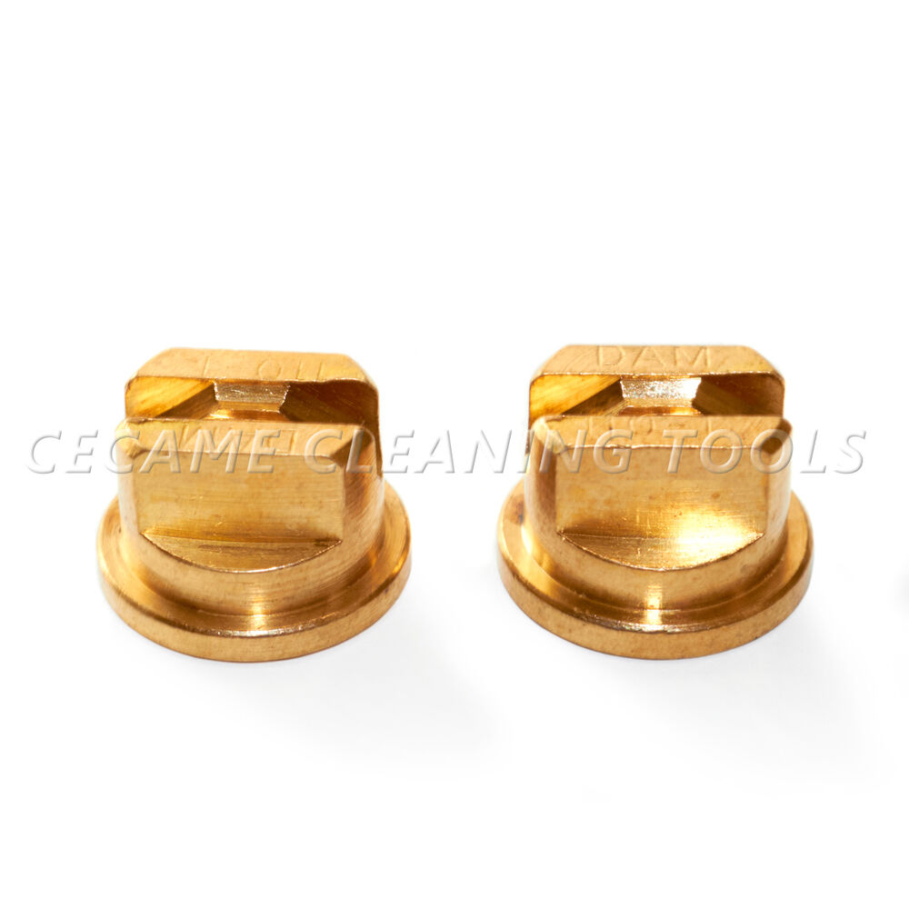Brass tee jet carpet cleaning wand spray valve nozzle t