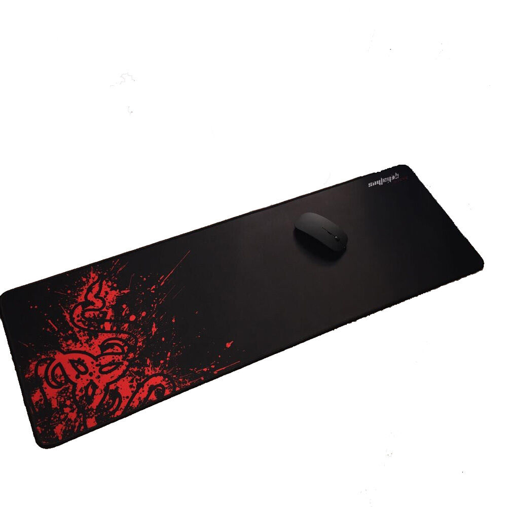 Red Razer Goliathus Fragge Gaming Mouse Pad Computer Mat