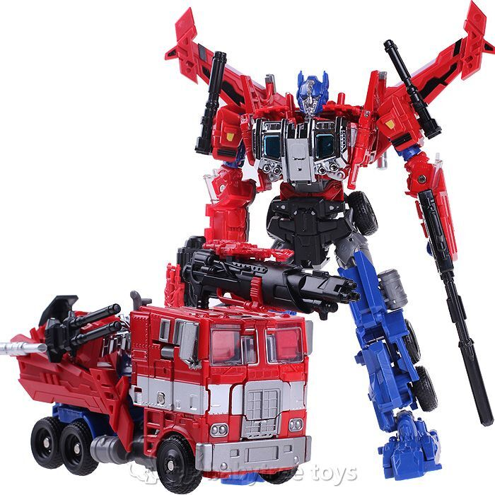 All Transformers Toys : New transformers human alliance optimus prime luxury