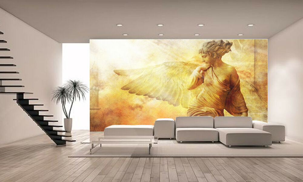 Angel wall mural photo wallpaper giant decor paper poster for Angel wall mural