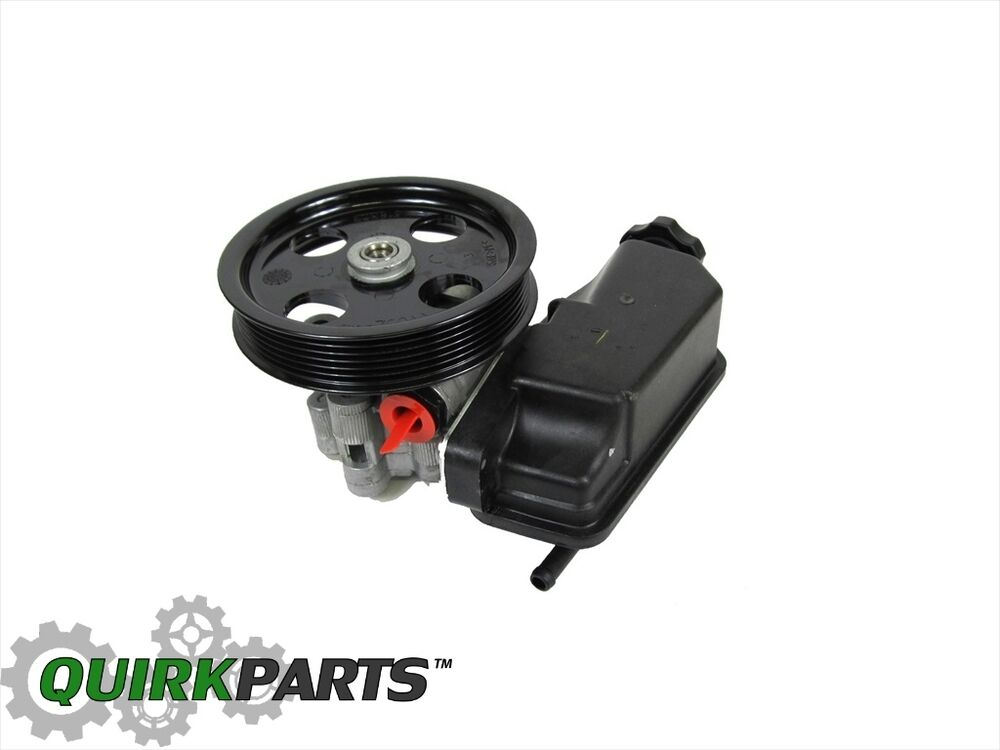 05 07 Dodge Dakota Power Steering Pump With Pulley New