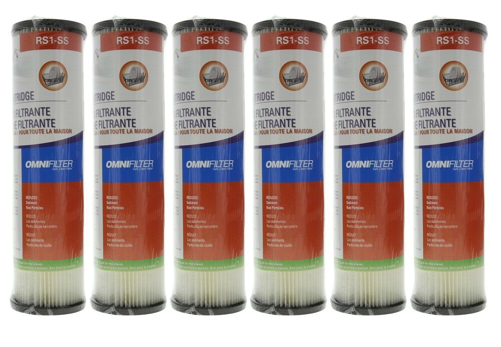 Omnifilter Rs1ss 20 Micron 10 X 2 5 Comparable Sediment