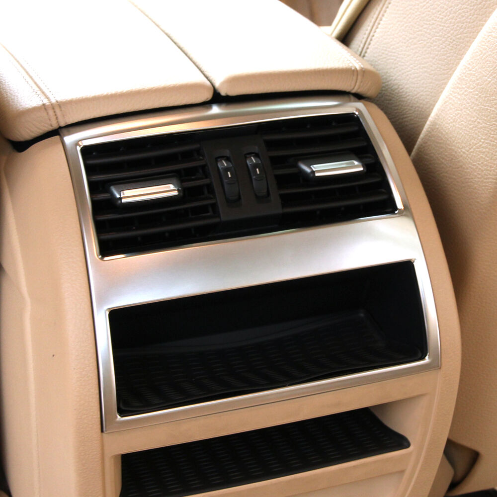 New Chrome Rear Air Conditioning Vent Trim Cover For Bmw 5 Series F10 F11 550i Ebay