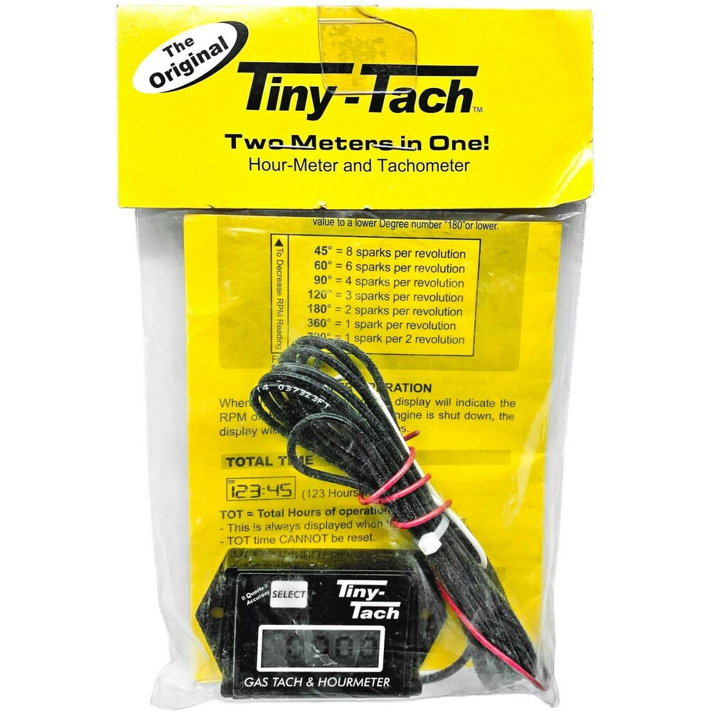 Honda Atv Hour Meter : New tiny tach hour meter tachometer two cylinder motor