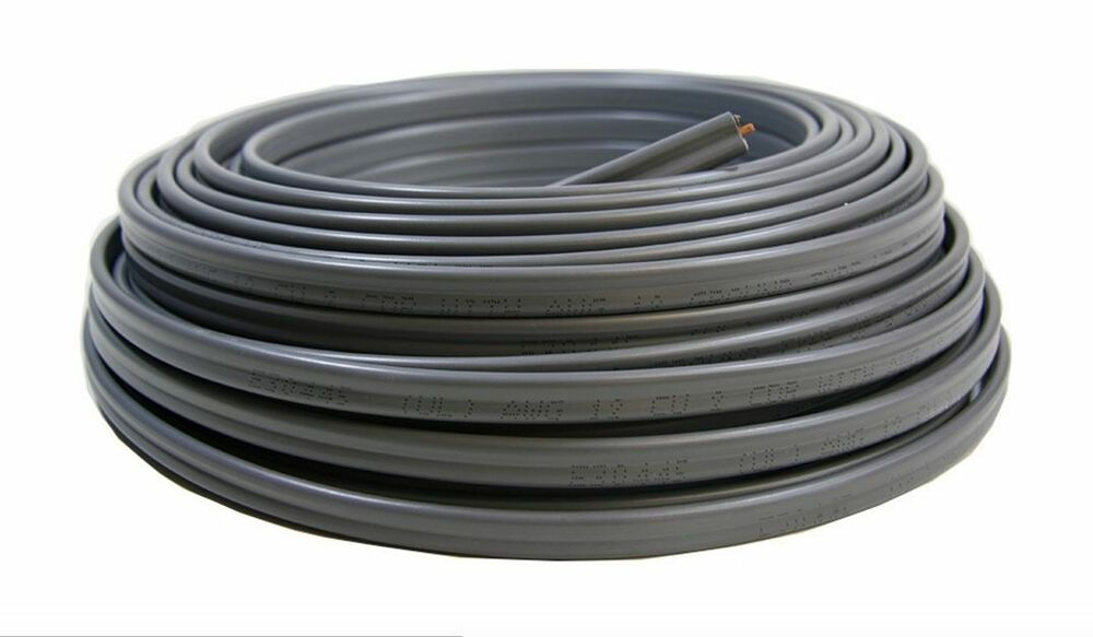 8 Gauge Electrical Wire : Roll awg uf b gauge outdoor burial electrical