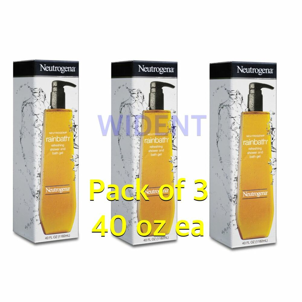 Pack of 3 Neutrogena Rainbath Refreshing Shower Bath Gel Original 40 oz Each | eBay