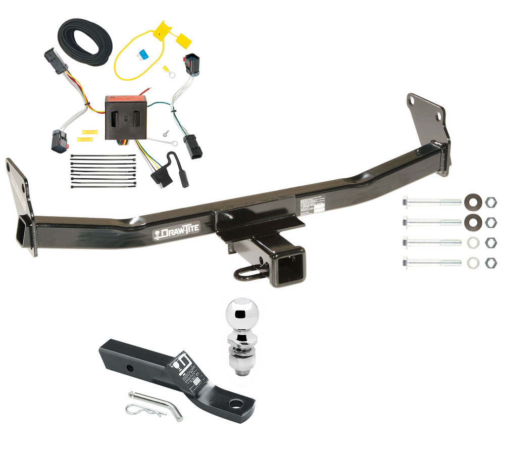2011 2017 jeep compass complete trailer hitch package w. Black Bedroom Furniture Sets. Home Design Ideas