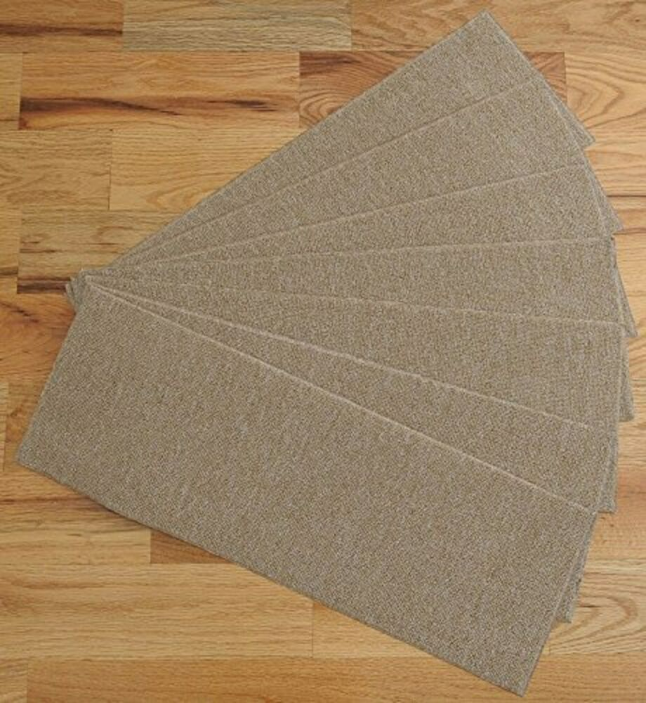 Carpet Stair Treads Non Slip Set Of 7 Step Safety Pads For
