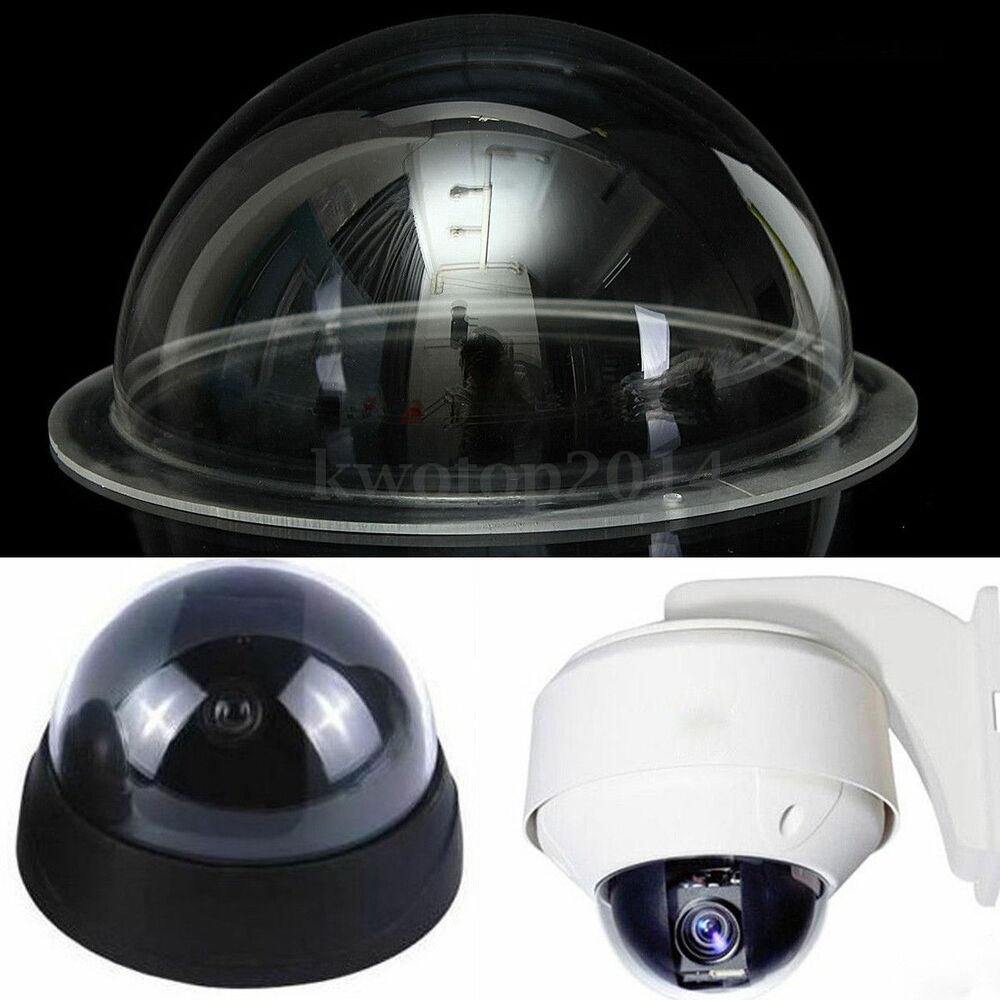 2 4 6 9 inch clear acrylic monitoring camera dome housing cover cctv replacement ebay - Camera dome exterieur ...