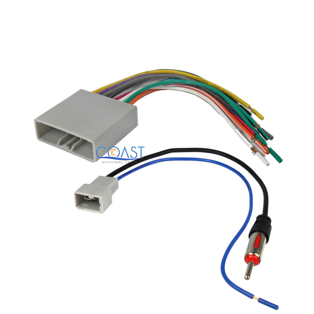 Stereo Wiring Harness Antenna Combo For 2006