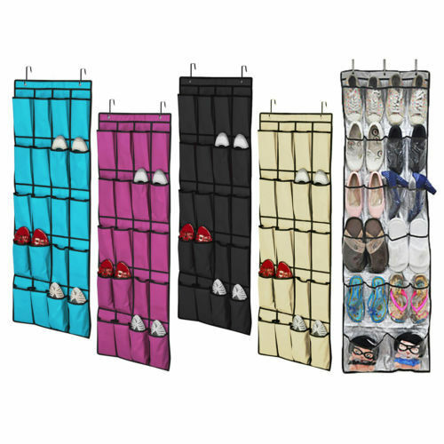 20 f chern h ngeorganizer h ngeaufbewahrung wand organizer h ngeregal ebay. Black Bedroom Furniture Sets. Home Design Ideas