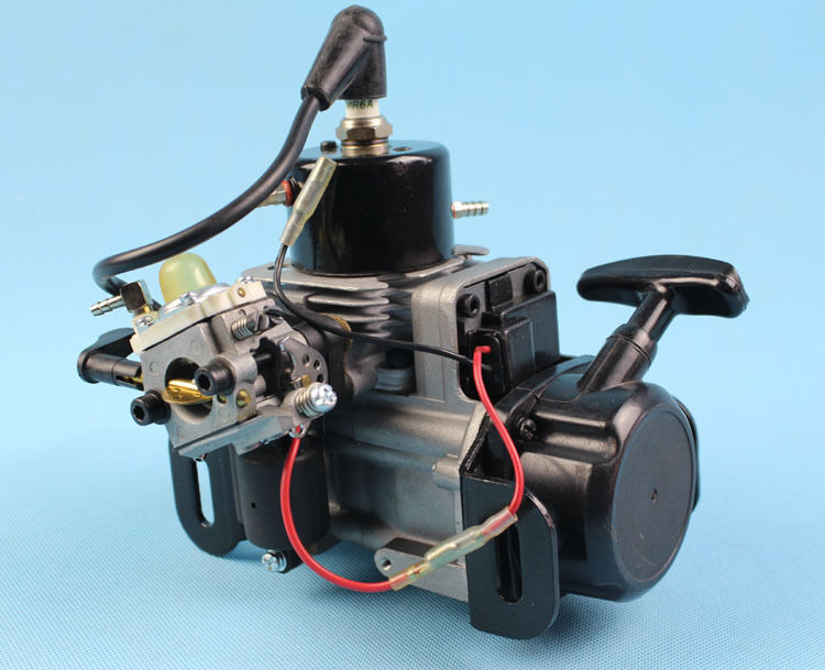 Qj 26cc marine engine for rc gas boat compatible with for Gas rc boat motors