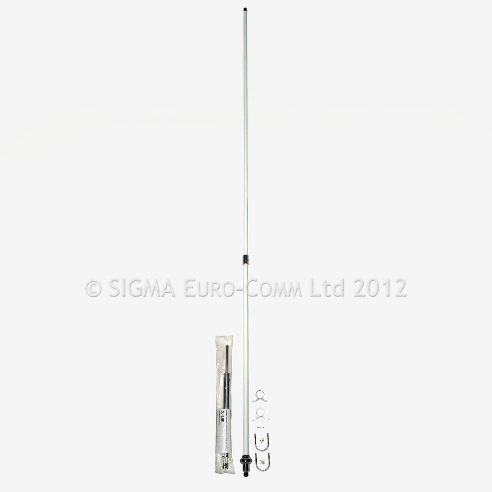 sigma x 200 2m 70cm dual band base ham antenna 4 icom kenwoon yaesu alinco ebay. Black Bedroom Furniture Sets. Home Design Ideas