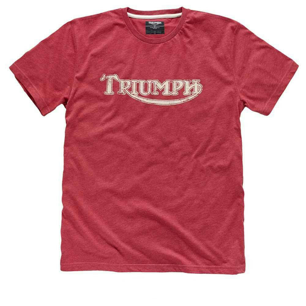 Triumph vintage logo t shirt red blue khaki motorcycle for Custom t shirts under 5 dollars