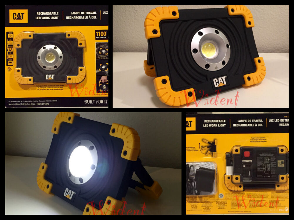 Led Cat Work Lights : Cat rechargeable led worklights ct pl ebay