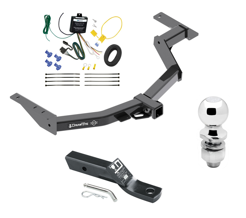 Complete Trailer Hitch Pkg Fits 2014 Toyota Hilux Sw4 W