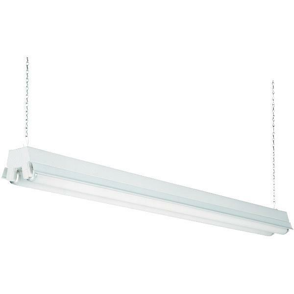 4' Fluorescent Shop Light - T12 2 Bulb Fixture