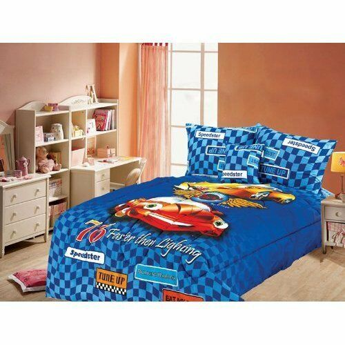 disney original cars comforter full size 5 pieces set sheet pillow