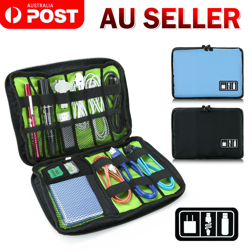 Electronic Accessories Storage Usb Cable Organizer Bag