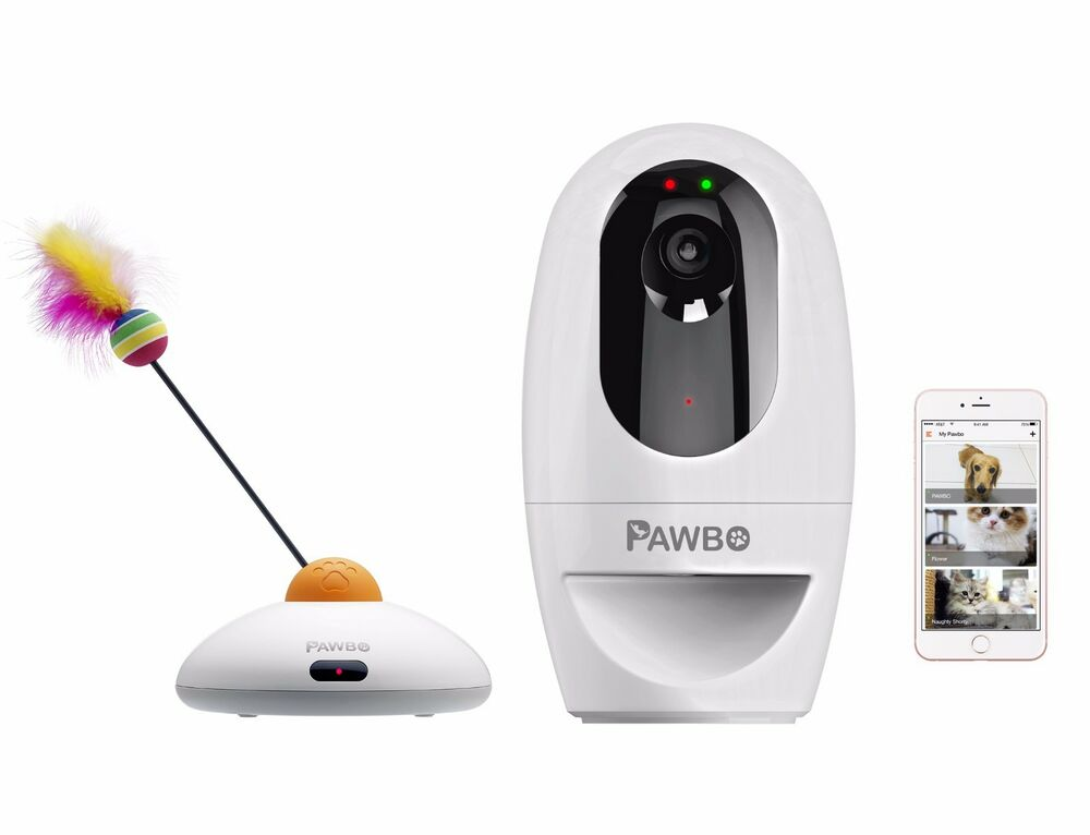 Pawbo Wi-Fi Interactive Pet Camera and Treat Dispenser