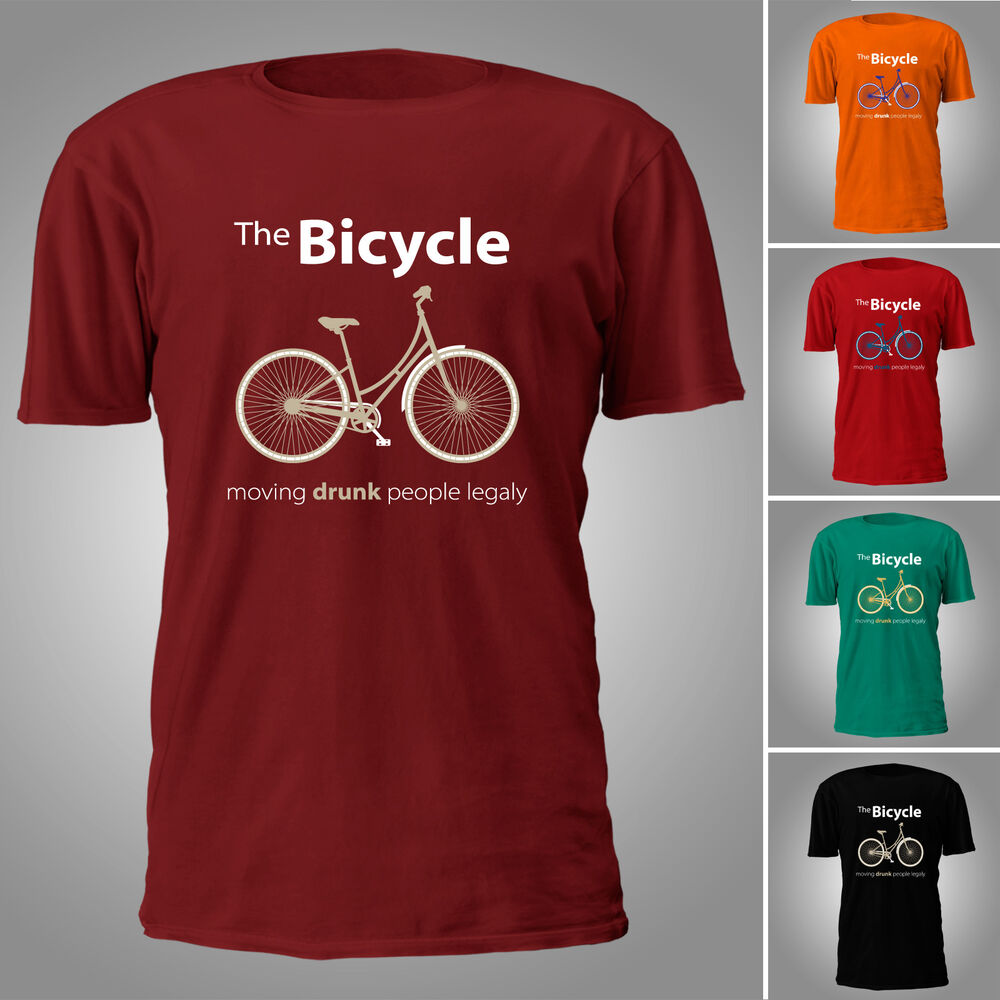 the bicycle funy t shirt ebay