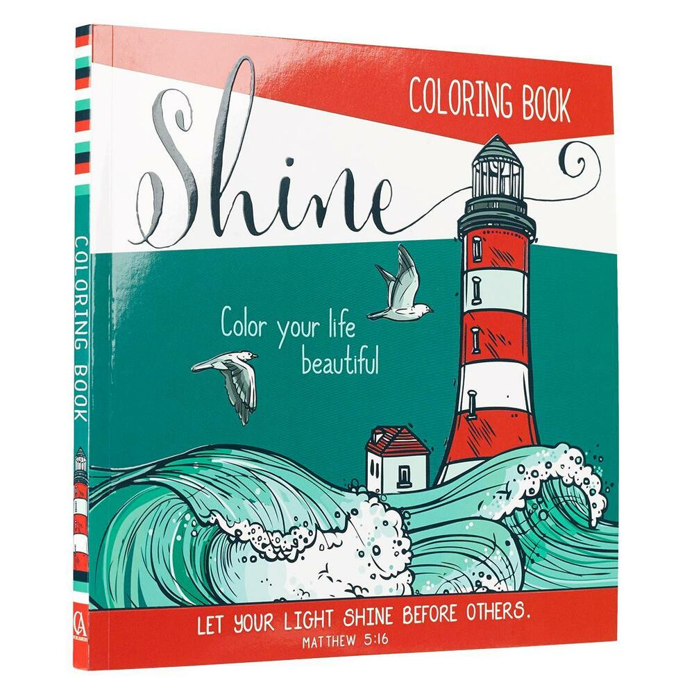Coloring Book For Adults CHRISTIAN Bible Scripture