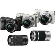 Sony Alpha A6000 Camera w/ 16-50mm & 55-210mm Lenses $579 + Free Shipping
