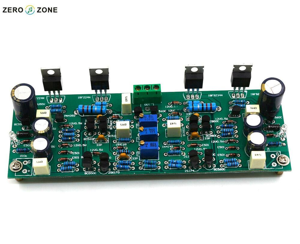 Assembled B22 Mono Headphone Amplifier Board Base On 22 Beta Unregulated Psu For High End Audio Amps All About Wiring Diagram Ebay