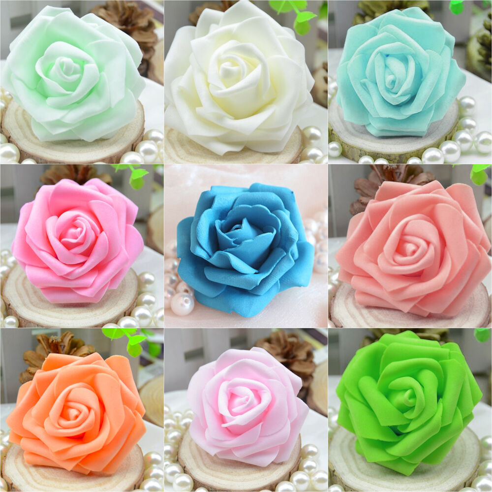 how to make foam roses