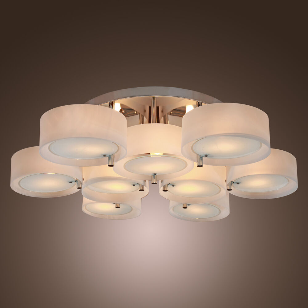 Best selling modern flush mount chandeliers lighting ceiling fixture bedroom usa ebay - Ceiling lights and chandeliers ...