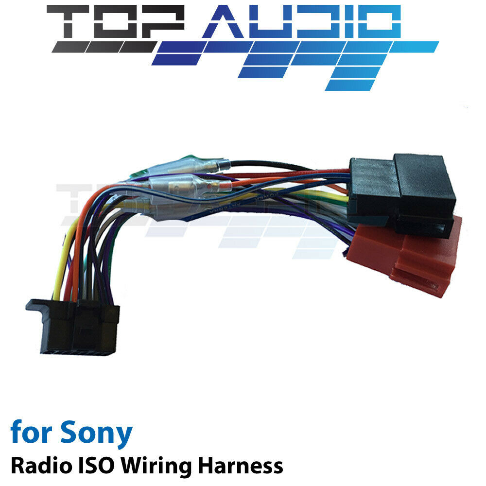 Sony Car Stereo Connector Wiring Diagram Diagrams Harness On Adapter Wx Gt90bt Iso Cable Adaptor Wire