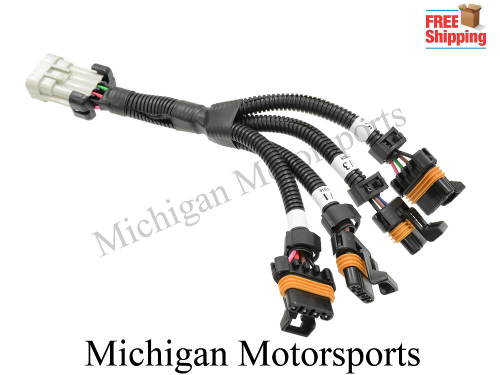 ls1 ls6 ignition coil harness set for relocation brackets