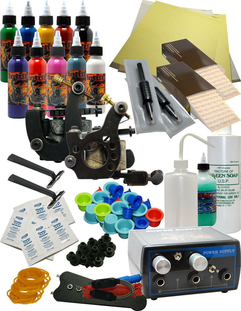 Complete tattoo kit ebay for Tattoo supplies ebay
