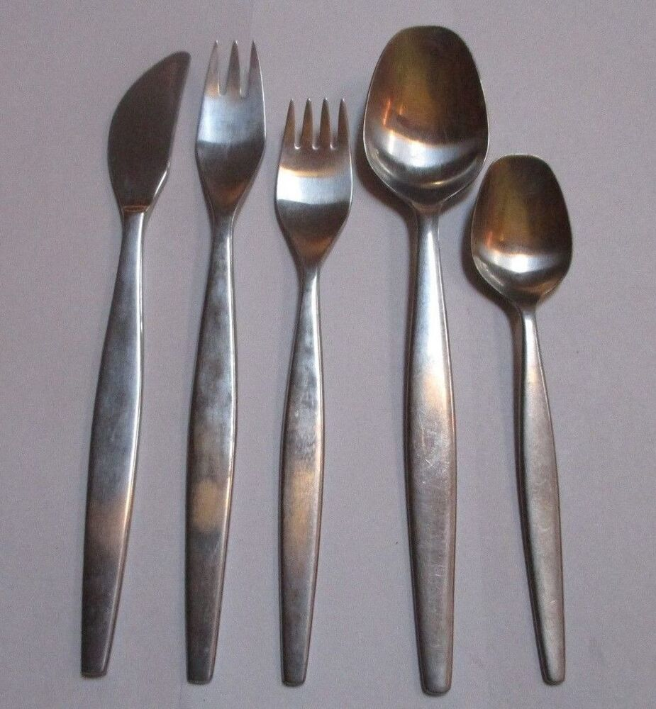 gense focus stainless steel flatware choice by the piece sweden ebay. Black Bedroom Furniture Sets. Home Design Ideas