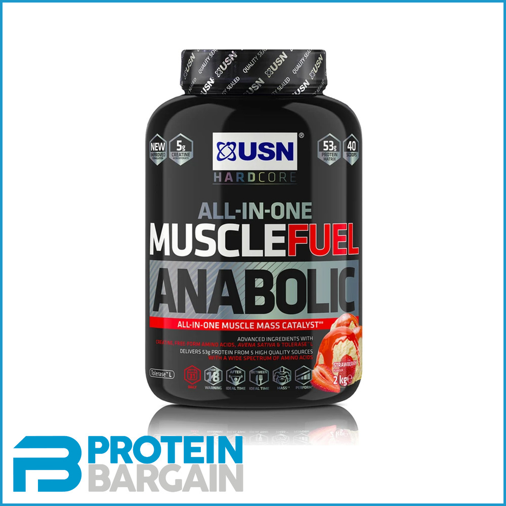 usn muscle fuel anabolic lean muscle gain review