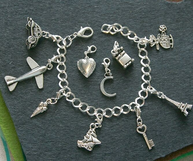 film new fifty 50 shades of grey charm bracelet jewelry